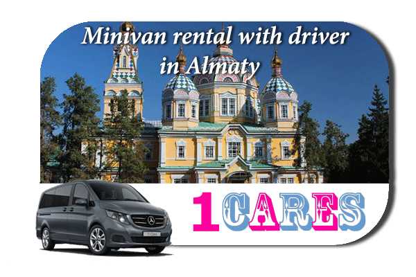 Rent a minivan with driver in Almaty