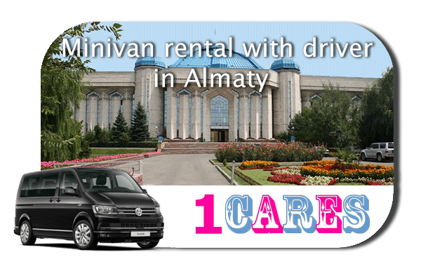Hire a minivan with driver in Almaty