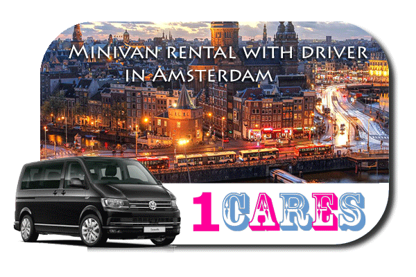 Rent a minivan with driver in Amsterdam