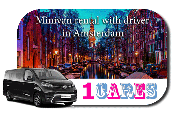 Hire a minivan with driver in Amsterdam