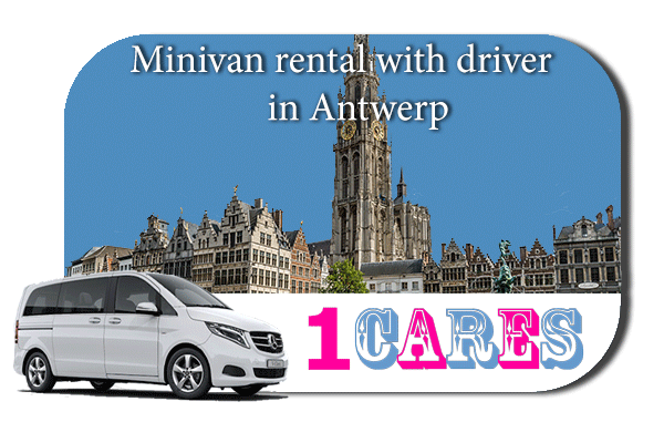 Rent a minivan with driver in Antwerp