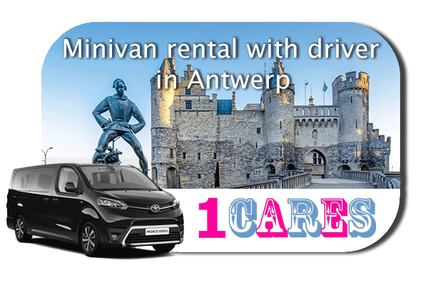 Hire a minivan with driver in Antwerp