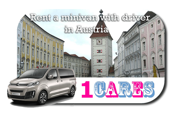 Rent a minivan with driver in Austria