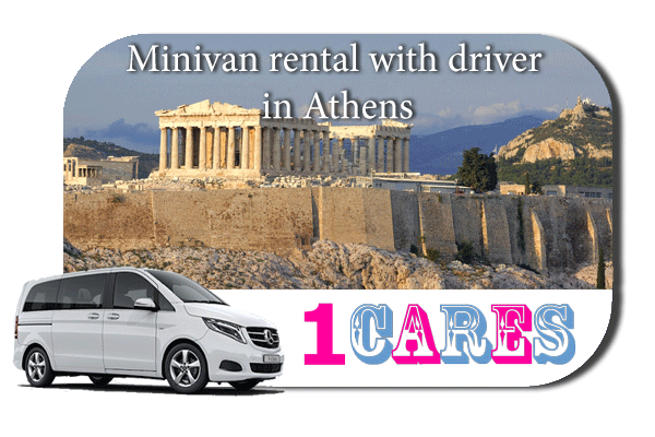 Rent a minivan with driver in Athens