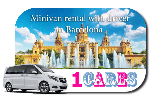 Rent a minivan with driver in Barcelona