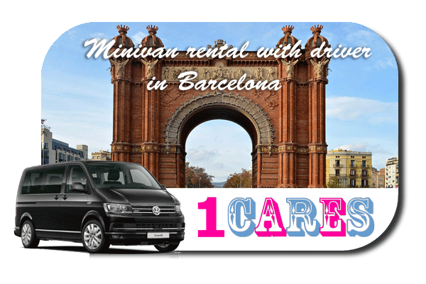 Hire a minivan with driver in Barcelona