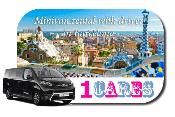 Minivan rental with in Barcelona