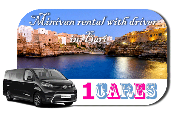 Hire a minivan with in Bari