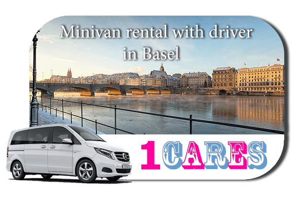 Rent a minivan with driver in Basel