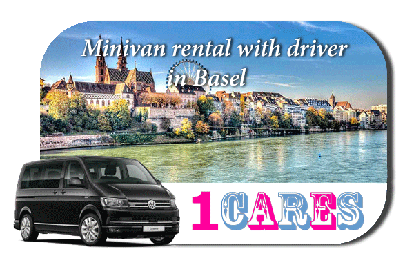 Hire a minivan with driver in Basel