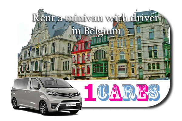Hire a minivan with driver in Belgium
