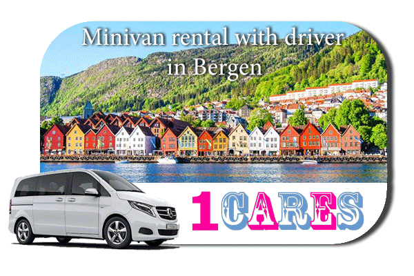 Rent a minivan with driver in Bergen