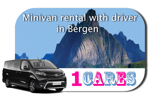 Hire a minivan with driver in Bergen