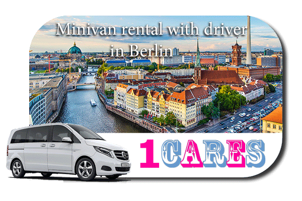 Rent a minivan with driver in Berlin