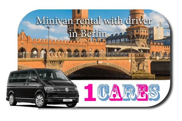 Hire a minivan with driver in Berlin