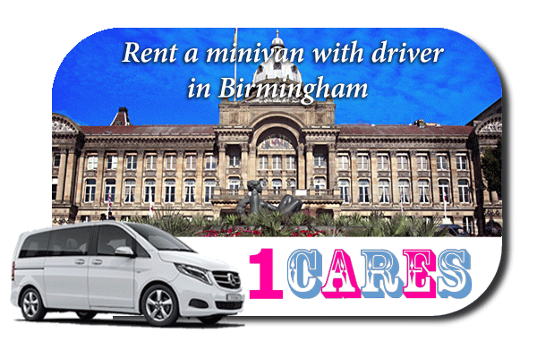 Rent a minivan with driver in Birmingham