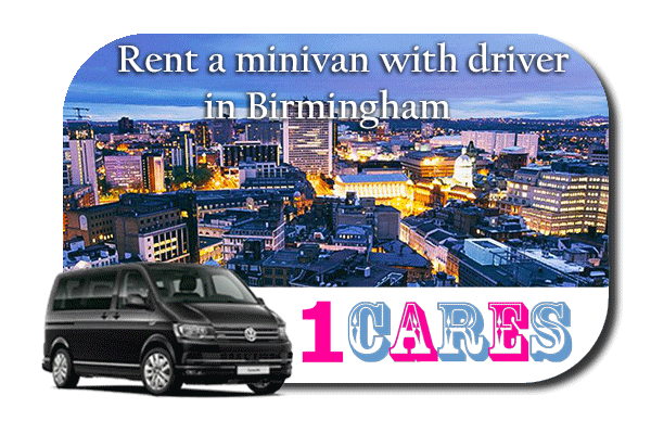 Hire a minivan with driver in Birmingham