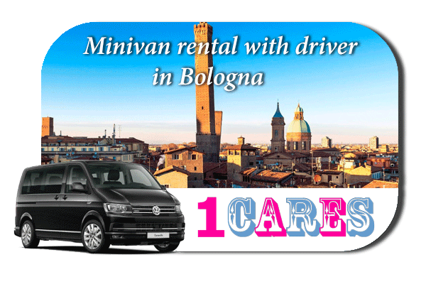 Rent a minivan with driver in Bologna