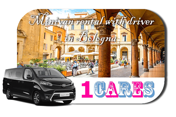 Hire a minivan with in Bologna