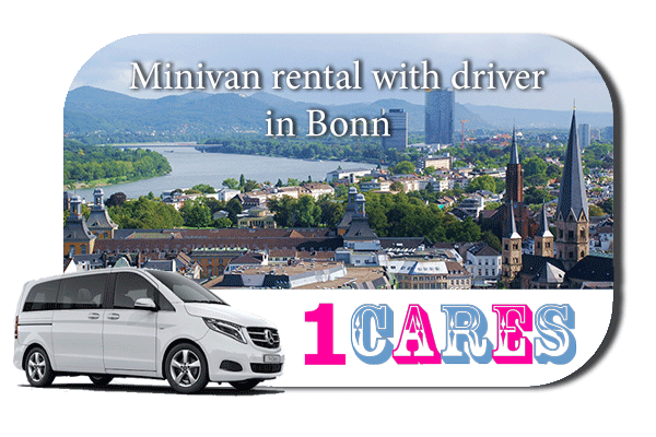 Rent a minivan with driver in Bonn