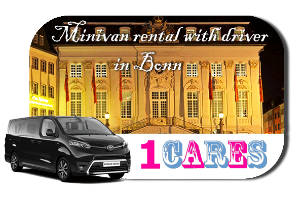 Hire a minivan with driver in Bonn