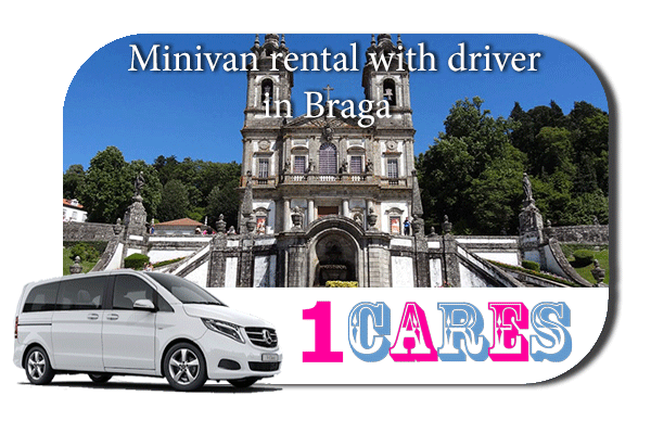 Rent a minivan with driver in Braga