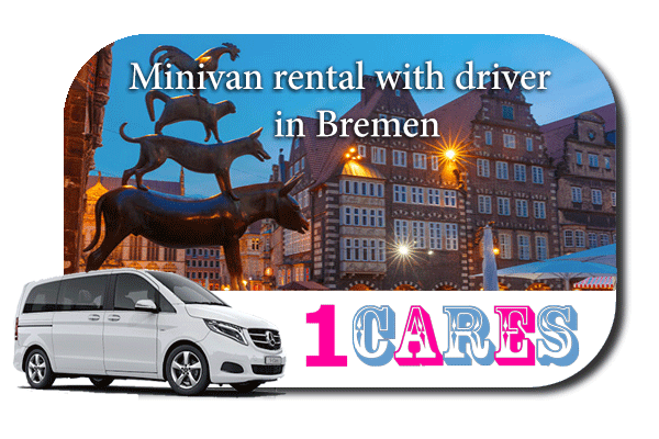 Rent a minivan with driver in Bremen