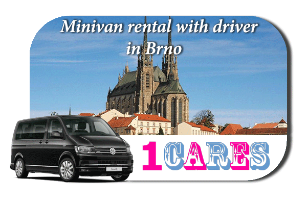 Rent a minivan with driver in Brno