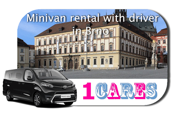 Hire a minivan with driver in Brno