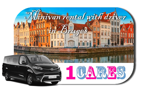 Hire a minivan with driver in Bruges