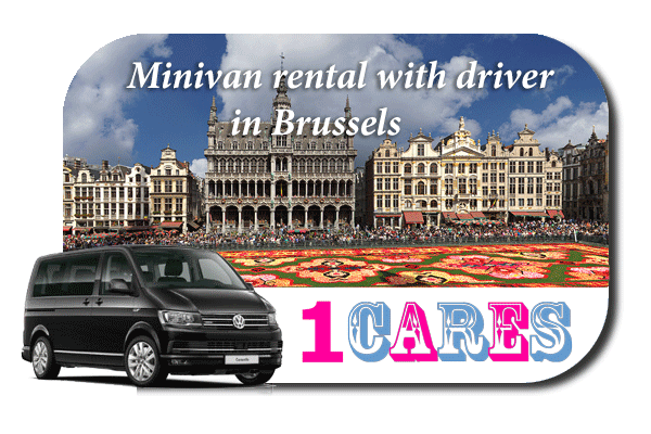 Hire a minivan with driver in Brussels