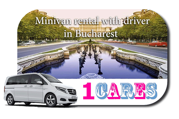 Rent a minivan with driver in Bucharest