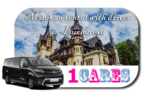 Hire a minivan with driver in Bucharest
