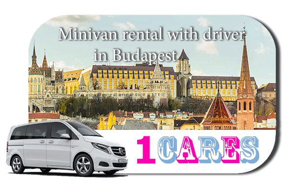 Rent a minivan with driver in Budapest