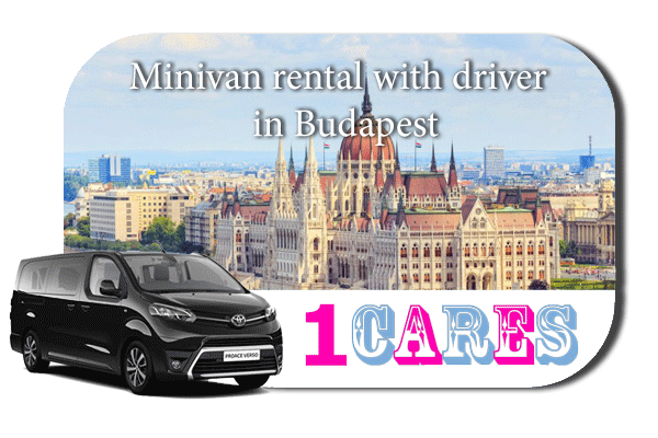 Hire a minivan with driver in Budapest