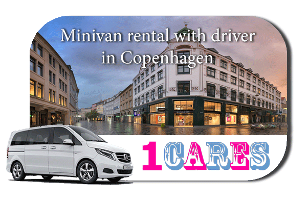 Rent a minivan with driver in Copenhagen