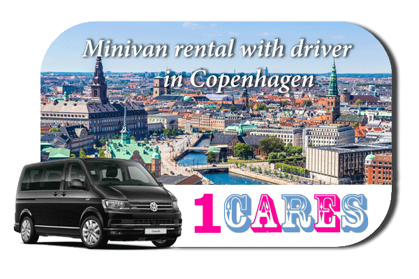 Hire a minivan with driver in Copenhagen