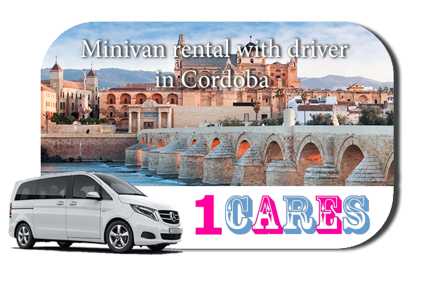 Rent a minivan with driver in Cordoba