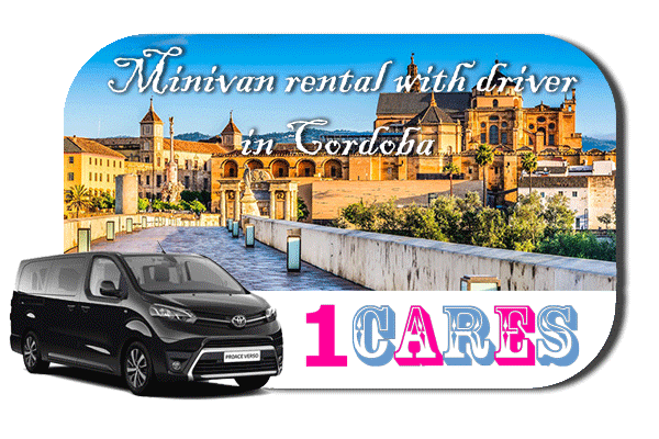 Hire a minivan with driver in Cordoba