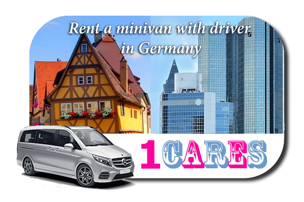 Rent a minivan with driver in Germany