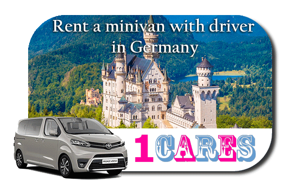 Hire a minivan with driver in Germany
