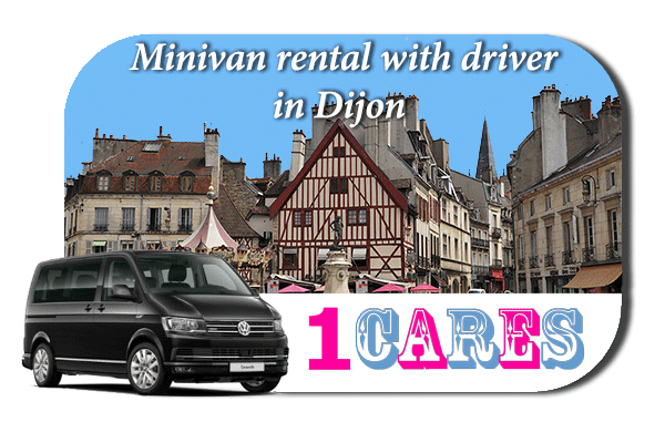 Rent a minivan with driver in Dijon