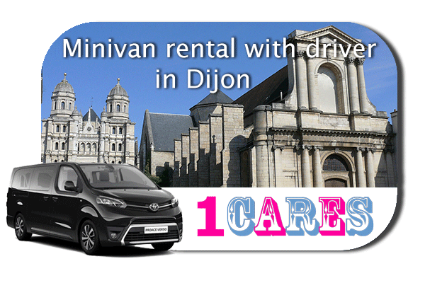 Hire a minivan with driver in Dijon