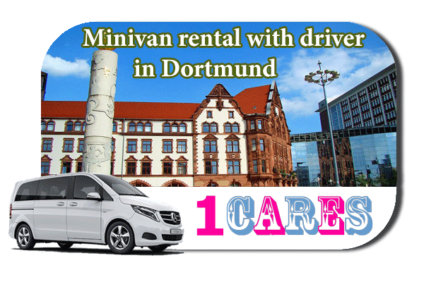 Rent a minivan with driver in Dortmund