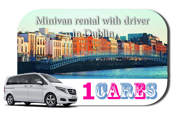 Rent a minivan with driver in Dublin