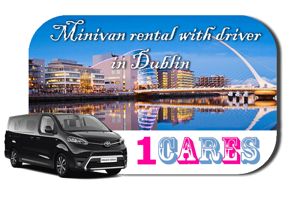Hire a minivan with driver in Dublin