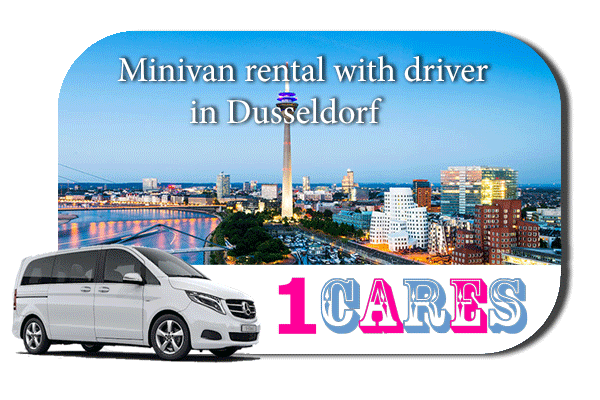 Rent a minivan with driver in Düsseldorf