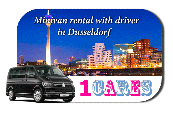 Hire a minivan with driver in Düsseldorf