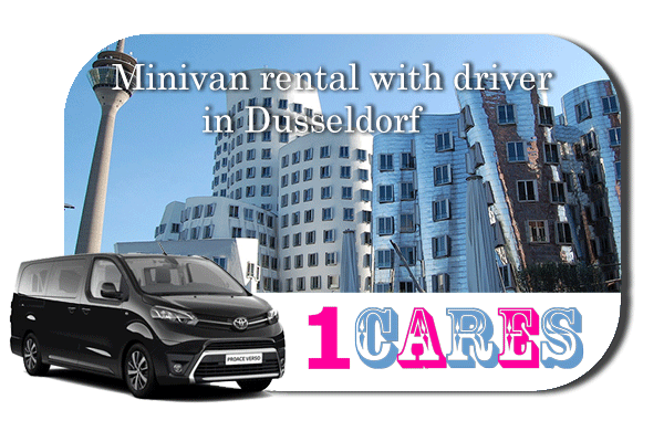 Minivan rental with in Düsseldorf