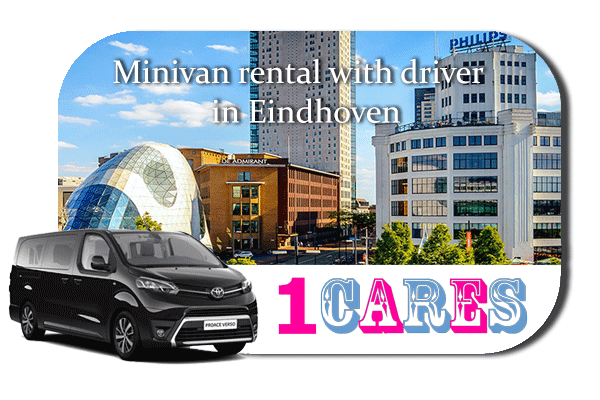 Hire a minivan with driver in Eindhoven